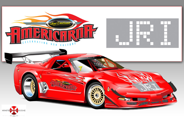 Custom t shirts for race teams businesses events car for Custom car club shirts