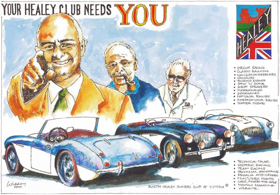Austin-Healey's and the Austin Healey Car Club of NZ and Others ...