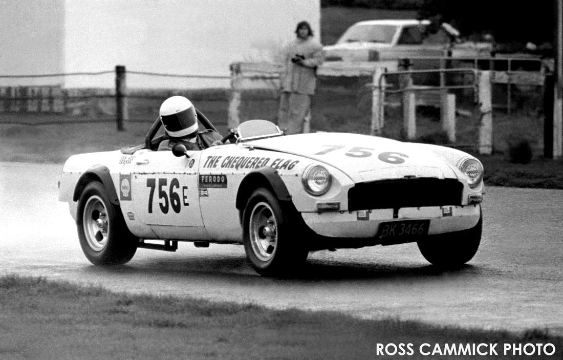 Charlie Conway / Naidu 1962 period turbo MGB roadster race car
