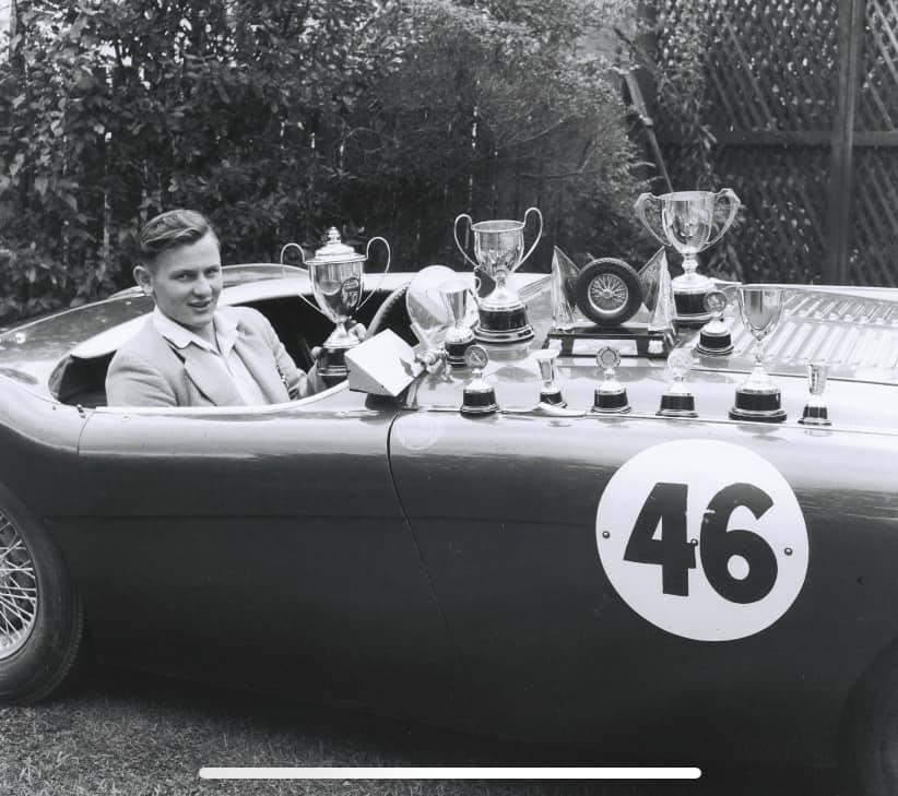 Name:  AH 100 #114 McLaren Healey Bruce and Trophies Bob Stenberg .jpg Views: 161 Size:  68.9 KB