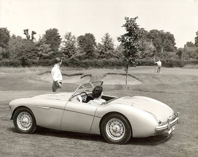 Name:  AH 100 #084 Healey 100 1952 BN1 Press Photo wire wheels LHD AH Historic Pictures .jpg