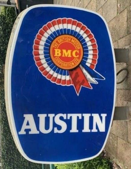 Name:  Logo #006 BMC Austin sign large Healey Museum Wall -upright.jpg Views: 84 Size:  95.5 KB