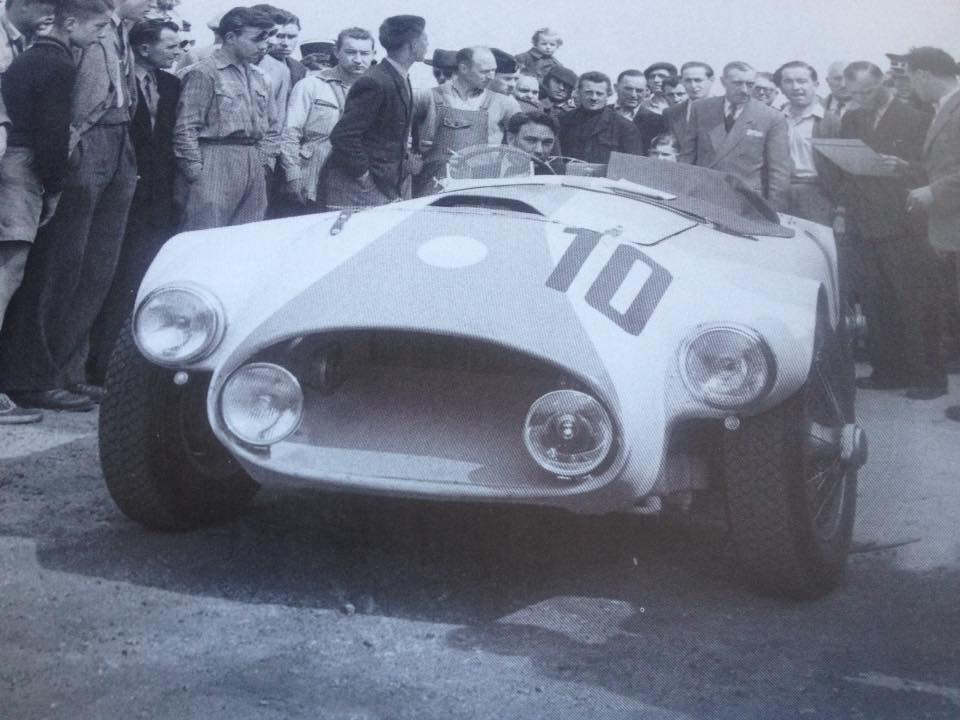 Name:  AH 100 #1954 Nash Healey race #10 1953 Le Mans race Clas Askelar archives .jpg Views: 228 Size:  71.5 KB