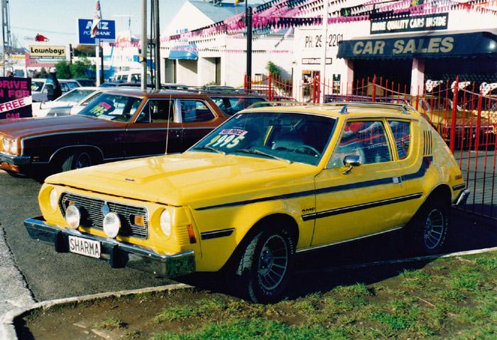 Name:  AMC Gremlin, 5 litre V8!, Takinini 1992.jpg Views: 1520 Size:  181.4 KB