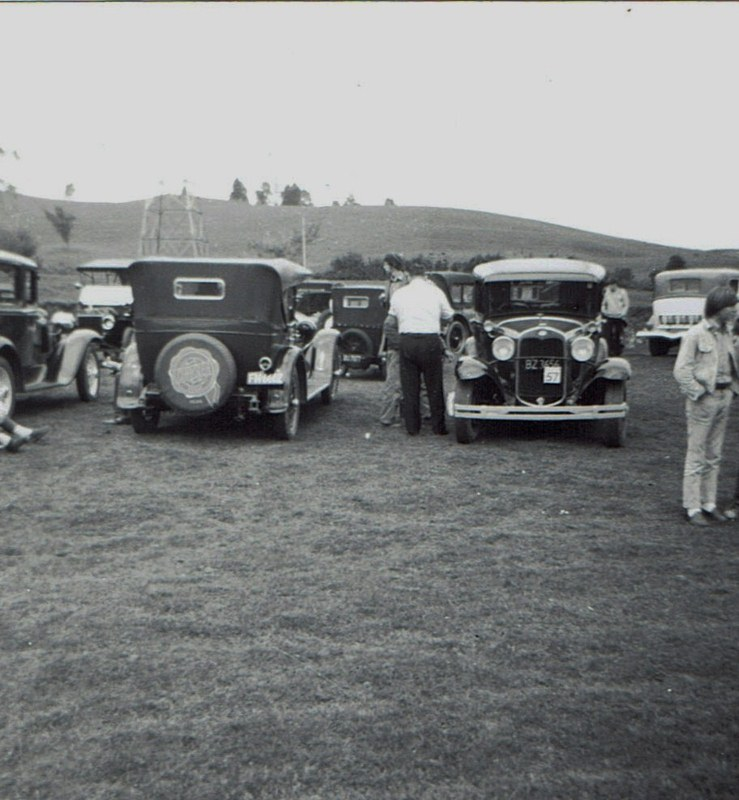 Name:  Hunua Hundred 1971 #27 Model A Ford C Liddell and others CCI07102019_0001 (739x800).jpg Views: 374 Size:  135.5 KB