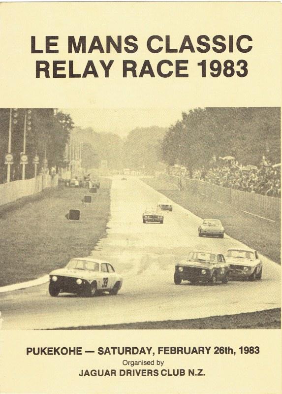 Name:  Pukekohe ; Le mans Classic Relay Race Feb 1983 p 1. # 2 CCI16082015 (2) (573x800).jpg Views: 3392 Size:  155.2 KB