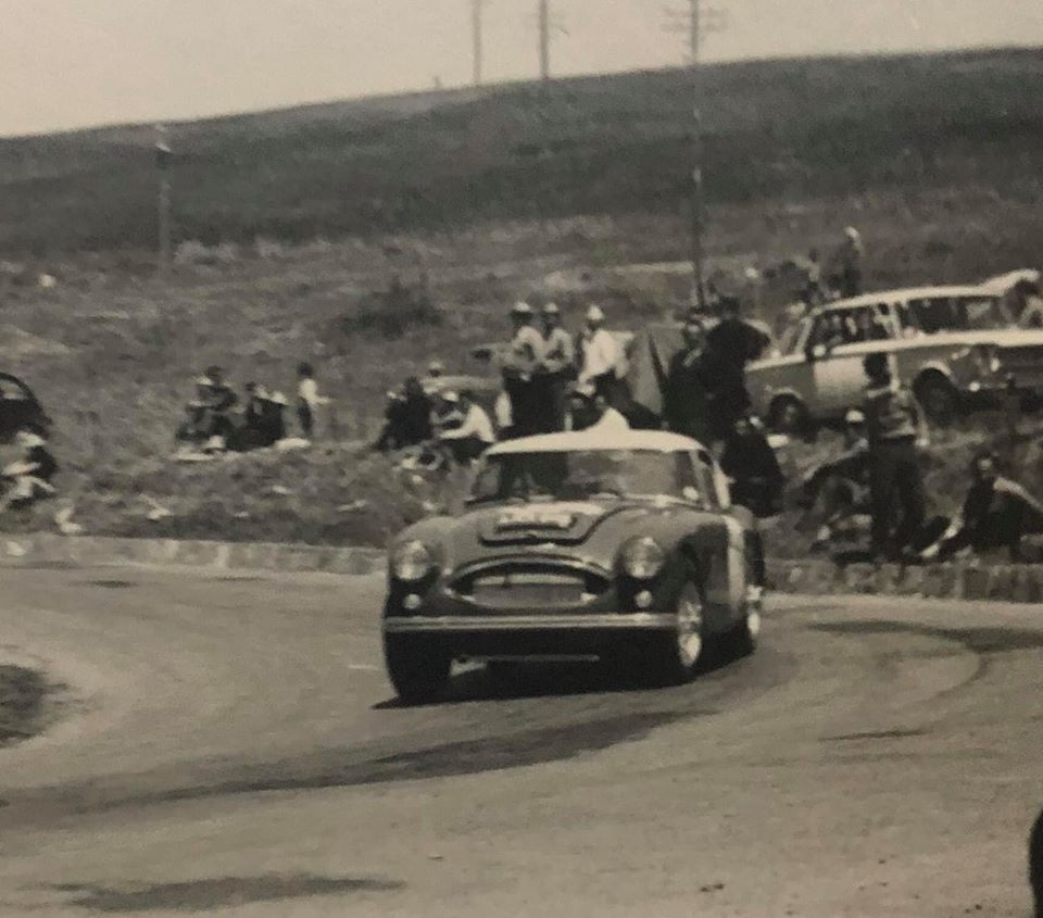 Name:  AH 3000 #351 1965 Targa Florio Timo Makinen Paul Hawkins Targa Florio archives .jpg Views: 267 Size:  90.4 KB