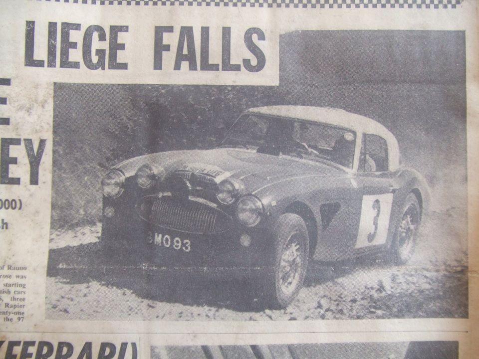 Name:  AH 3000 #355 Liege Sofia Liege Rally  1964 Rauno Aultonen Tony Ambrose won 21 finishers 97 start.jpg Views: 245 Size:  113.9 KB