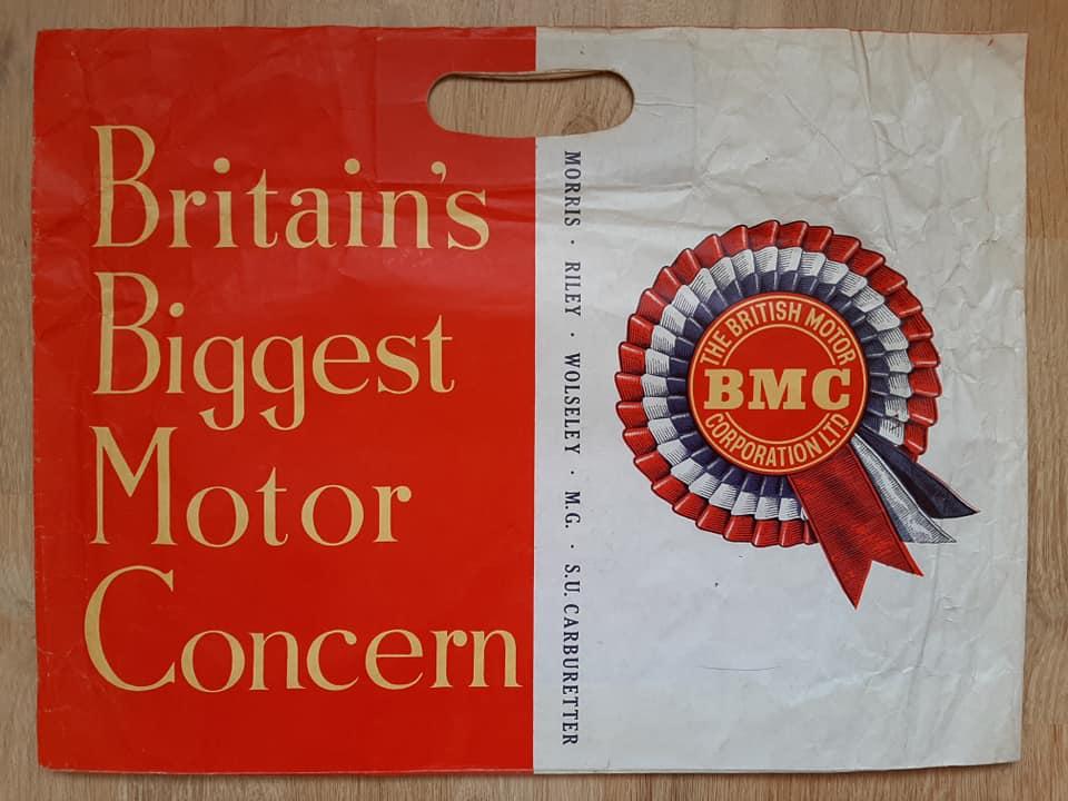 Name:  Logo #24 BMC Bag B BMC Morris MG Riley Wolseley SU side .jpg Views: 188 Size:  66.0 KB
