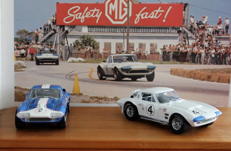 Name:  Models #1111 Corvette GS Sebring photo and models R Dowding .jpg Views: 67 Size:  101.1 KB