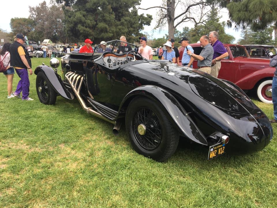 Name:  Cars #146 RR Merlin Special Jay Leno ABD Los Angeles Mel Hildebrandt photos .jpg Views: 64 Size:  122.8 KB