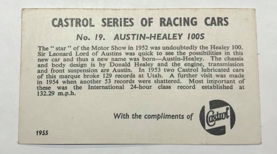 Name:  Motor Racing UK #6 Card collection set Austin Healey rr Paul O'Neill .jpg