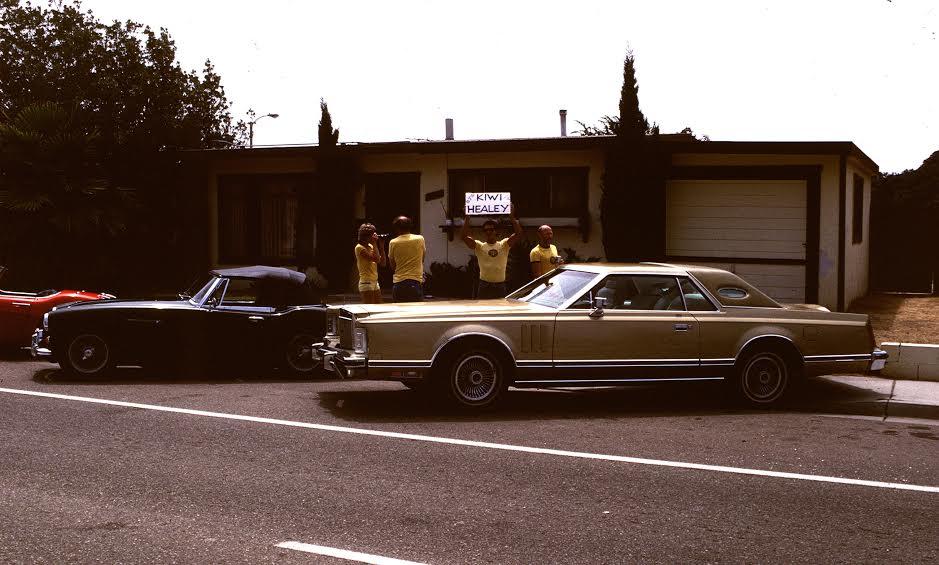 Name:  Healey trip 1982 #201 Lincoln - Jim Mann's - Healey Hans Nohr, Brenda Walt, Sergio and Bryan Oxn.jpg Views: 107 Size:  78.7 KB