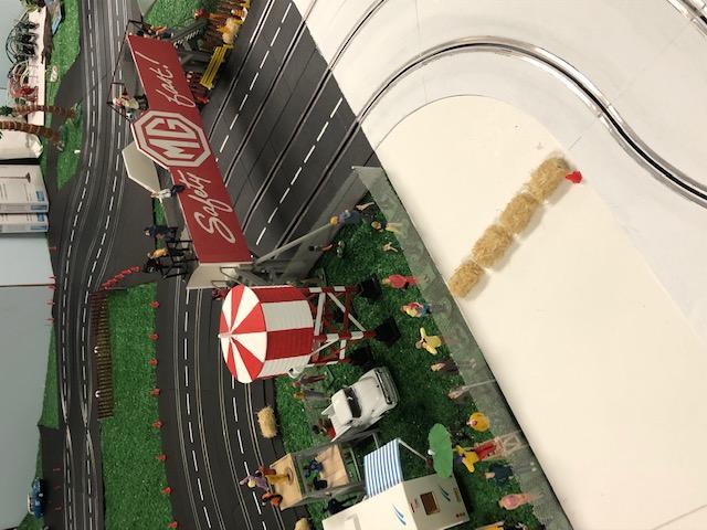 Name:  Models #1015 Slot Car Track MG bridge Nashville sc racer TRS .jpg Views: 66 Size:  105.9 KB