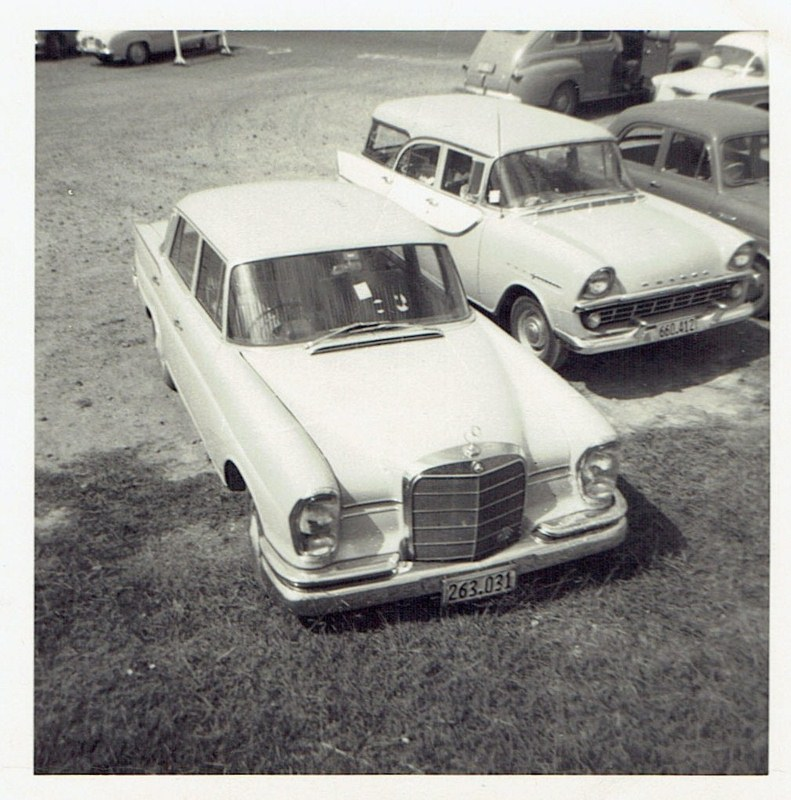 Name:  Cars by Roger Dowding #7 Mercedes and Holden 1963 Whenuapai CCI04022016_0002 (791x800).jpg Views: 69 Size:  170.3 KB