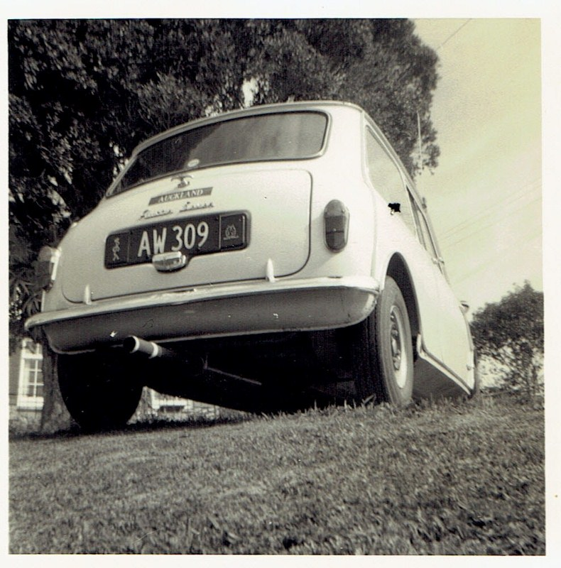 Name:  My cars #9 First Mini - the Tractor Muffler CCI05022016_0001 (790x800).jpg Views: 778 Size:  179.9 KB