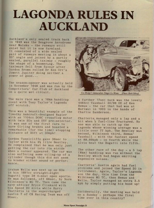 Name:  NSCC 1949 #111 1949 Seagrove Race Meetings P1 Motor Sport Nostalgia G Staples .jpg (3) (595x800).jpg Views: 82 Size:  182.0 KB