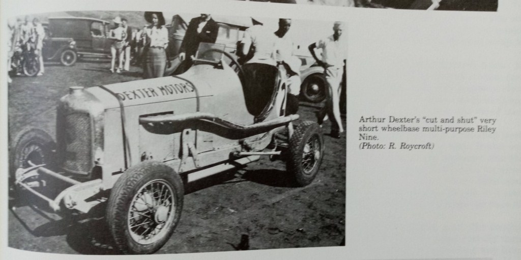 Name:  Jack Boot #031 Bugley Bugatti Riley Special Arthur Dexter Flat to the Boards book smll Photo R R.jpg Views: 36 Size:  116.3 KB