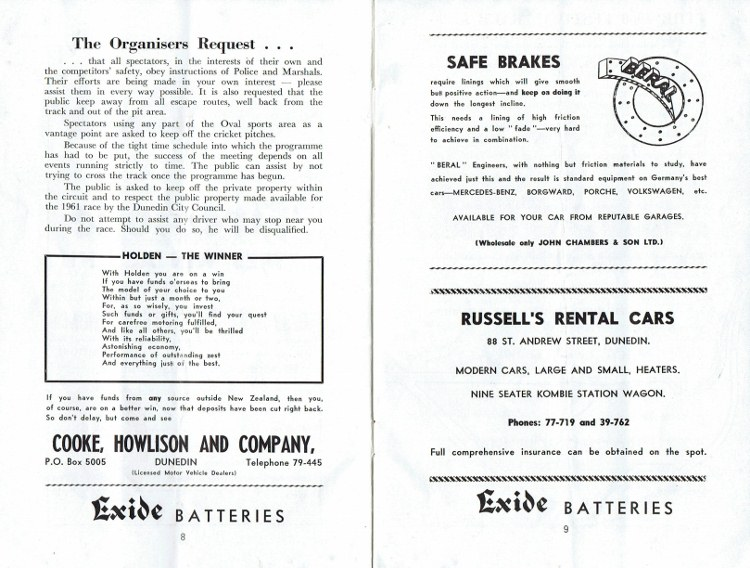 Name:  Programme Dunedin Festival 1961 #5 p8, 9 safety request CCI15092016_0004 (750x568).jpg Views: 1173 Size:  142.1 KB