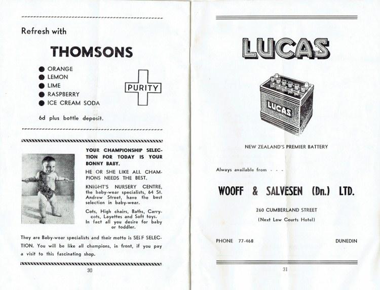Name:  Programme Dunedin Festival 1961 #16 p30, 31 CCI15092016 (750x573).jpg Views: 1124 Size:  114.9 KB