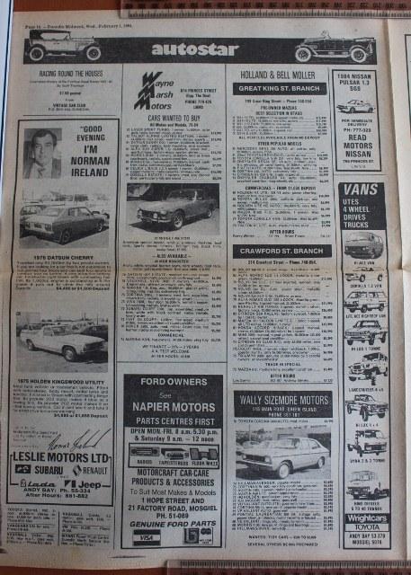 Name:  Motoring Books #244 Dunedin Weekly 1 Feb 84 car ads 1 2019_10_16_1074 (457x640).jpg Views: 214 Size:  147.4 KB