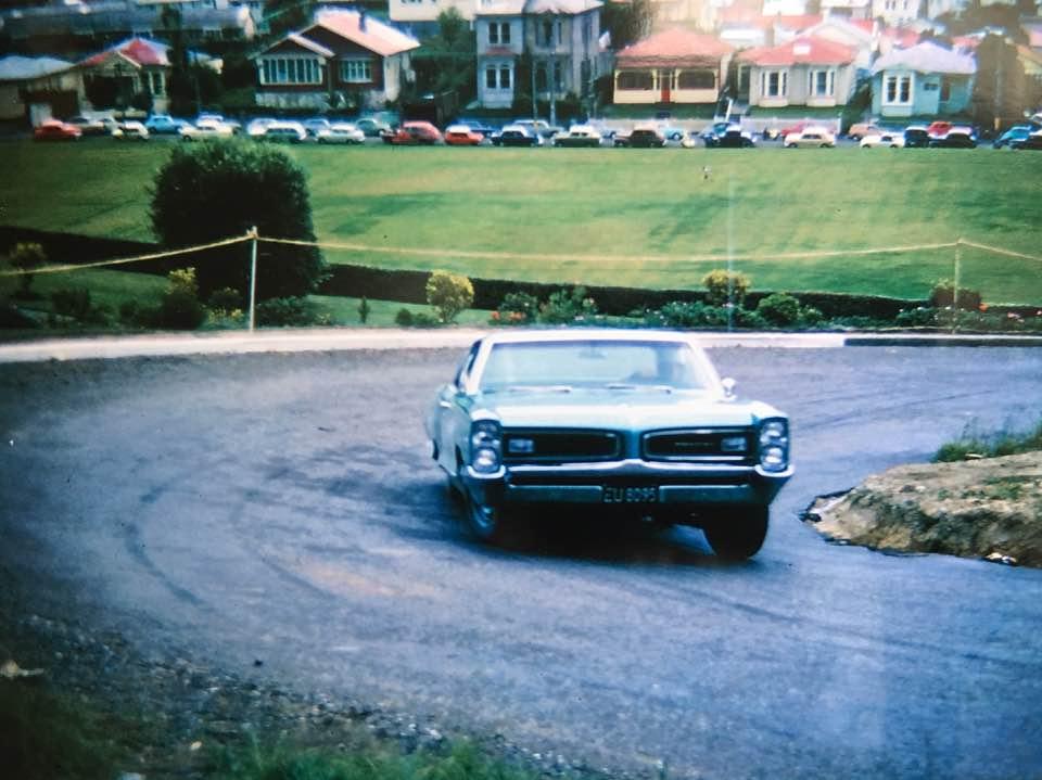 Name:  Pontiac #77 Hill Climb in NZ date unknown - (2).jpg Views: 748 Size:  79.4 KB