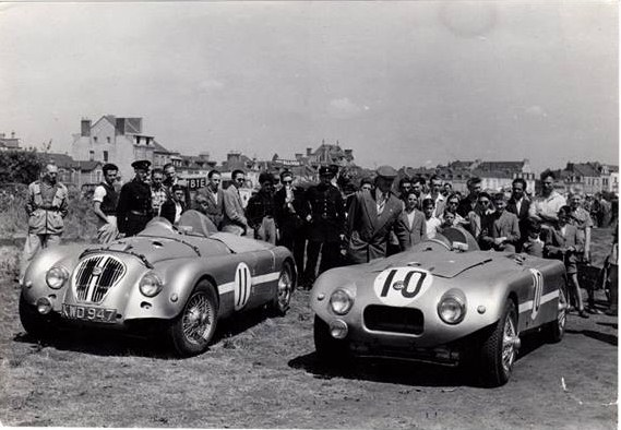 Name:  AH 100 #82 Healey Racer X8 and Racer W Kennedy.jpg Views: 175 Size:  91.0 KB
