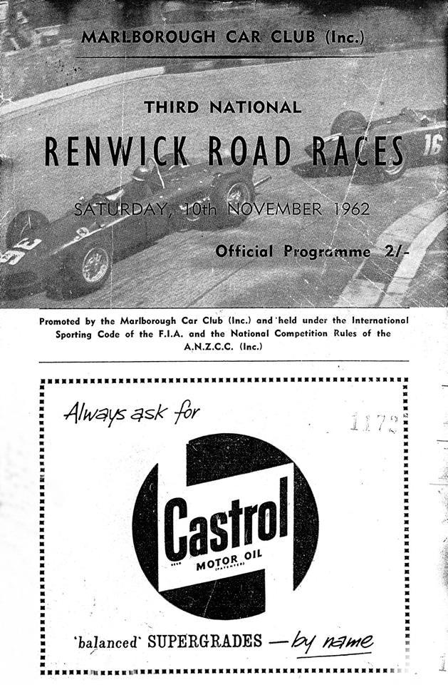 Name:  Motor Racing Renwick #8 1962 3rd RRR Programme cover 10 Nov 62 Ron McPhail.jpg Views: 96 Size:  120.9 KB
