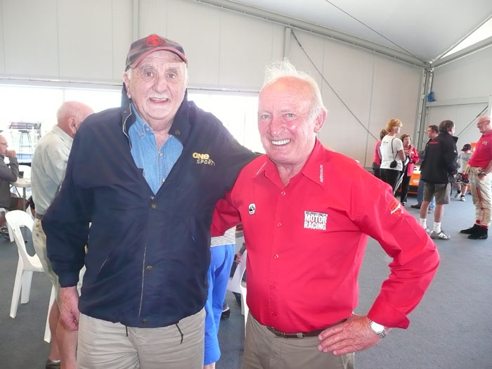 Name:  Brian Prescott & Chris amon - NZFMR Chris Amon Festival 2011 - Jim Barclay photo 250 (1).jpg