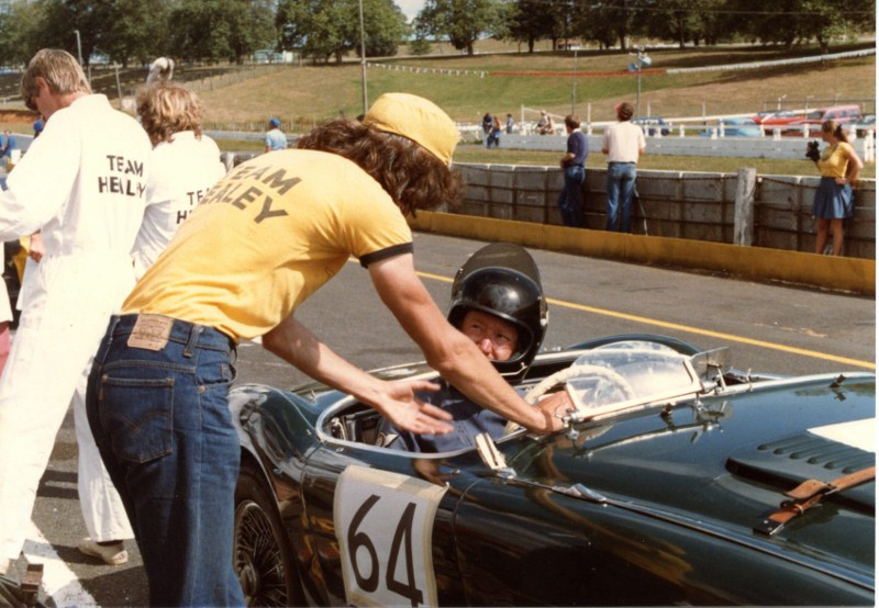 Name:  Pit Stop Tay driving Lyle standing AHCC LeMans Feb 83 img709 (3) (800x554).jpg
