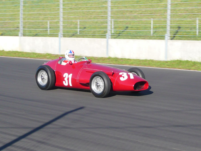 Name:  Chris Amon 1953 Maserati 250F Chassis # 2501-2523 - NZFMR Chris Amon Festival _ Jan 2011 - Jim B.jpg