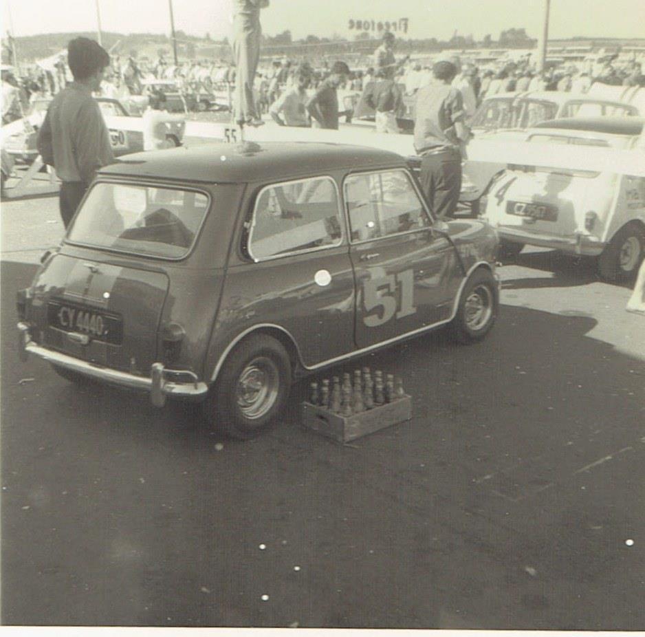 Name:  Mini Race # 88 Alan Boyle in Violet 970 S Puke '68 R Dowding  .jpg Views: 568 Size:  87.3 KB