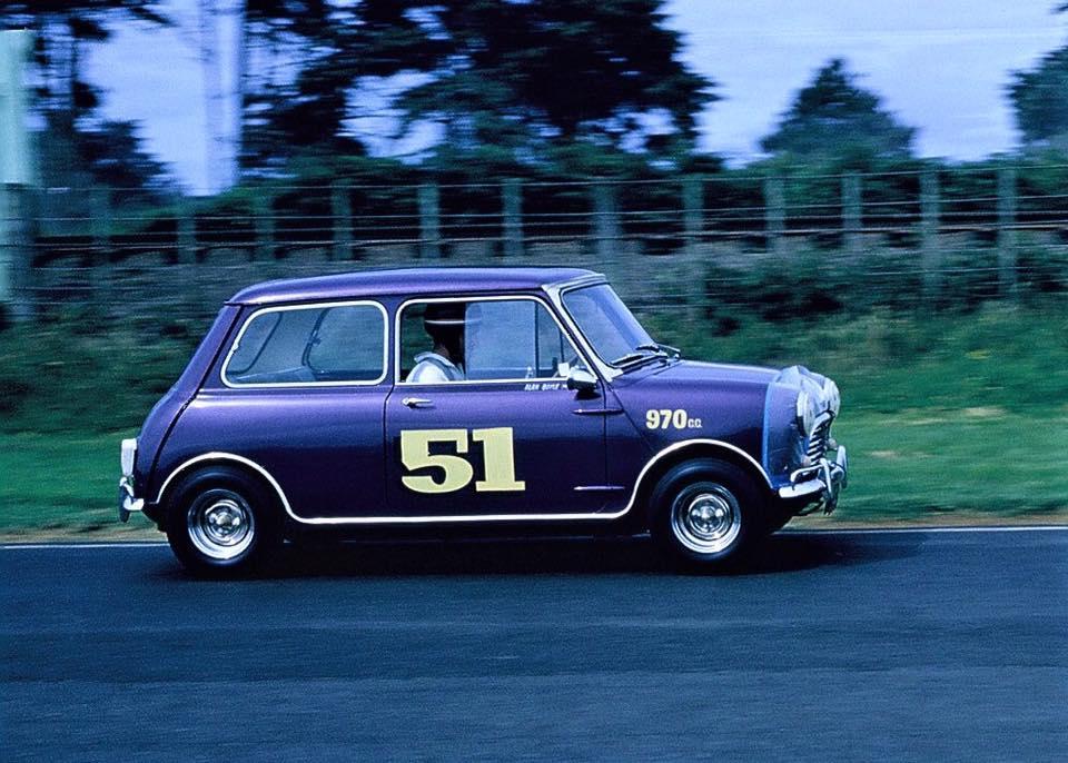 Name:  Mini Race # 87 Alan Boyle in Violet 970 S A Boyle .jpg Views: 561 Size:  97.5 KB
