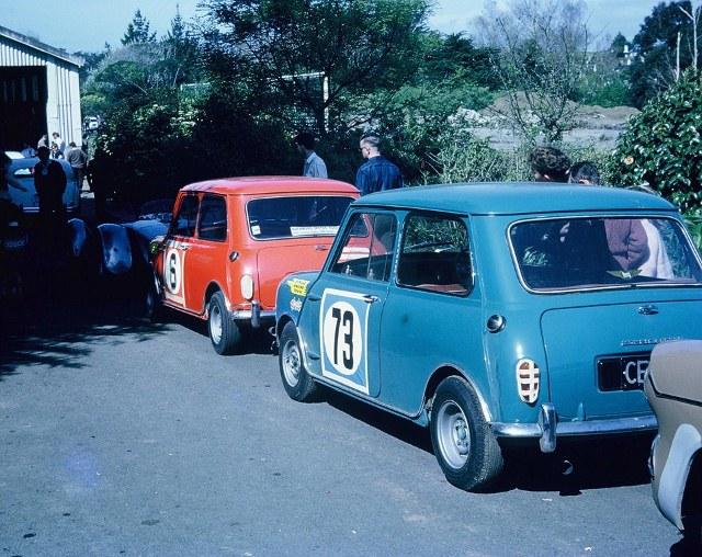Name:  Mini Race #80 Paritutu 1965 Lycoming Ron Brown #73 A Boyle #6 (640x508) (2).jpg Views: 59 Size:  152.2 KB