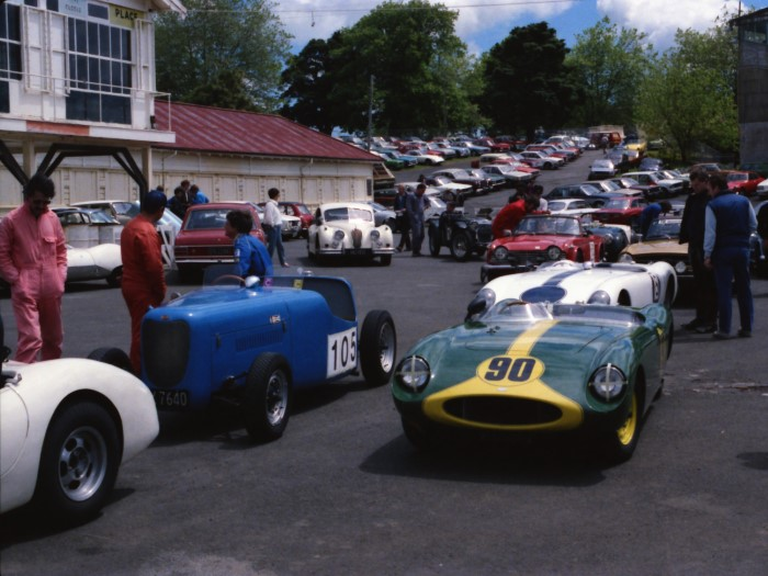 Name:  Bucklers in NZ #119 Pukekohe Blue Brick ex Wally Bower #105 KA 6377 #90 Ivy's car behind 1985-86.jpg Views: 51 Size:  112.4 KB