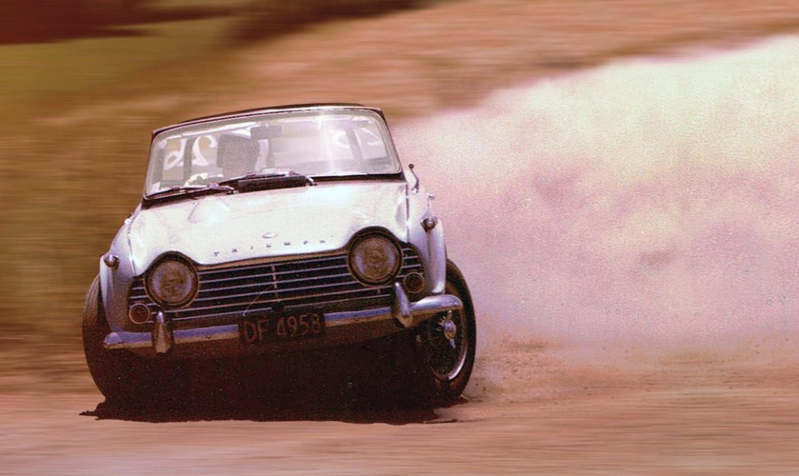 Name:  Roger Dowding. TR 4 A. NZ hill climb. 1980.jpg Views: 399 Size:  151.6 KB