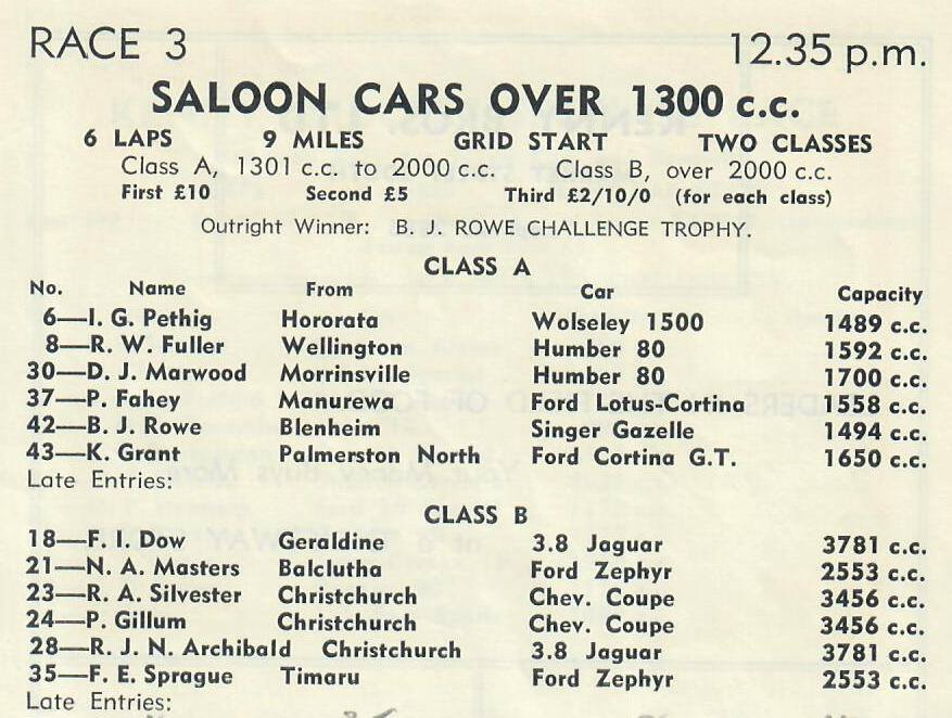 Name:  Motor Racing Renwick #23 1963 Race 3 Allcomer saloon first race Graham Woods.jpg