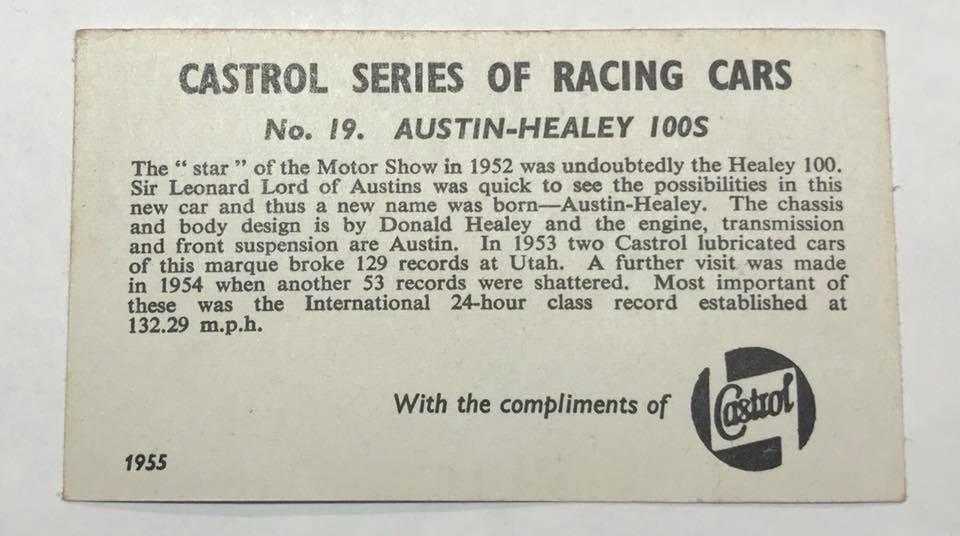 Name:  Motor Racing UK #6 Card collection set Austin Healey rr Paul O'Neill .jpg Views: 360 Size:  58.0 KB
