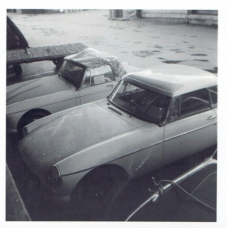 Name:  Cars by Roger Dowding #8 New MG's Princes Wharf 1965 CCI04022016 (795x800).jpg Views: 152 Size:  147.9 KB