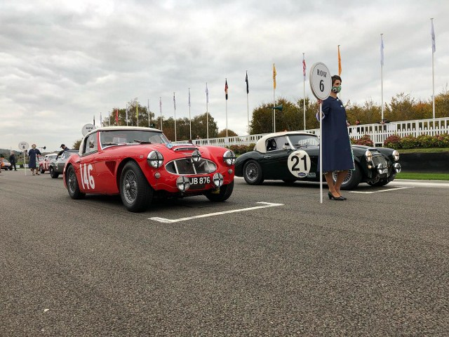 Name:  AH 3000 #378 XJB 867 2020 Goodwood Rich Jon. 12th overall first Healey home  grid Paul Woolmer (.jpg