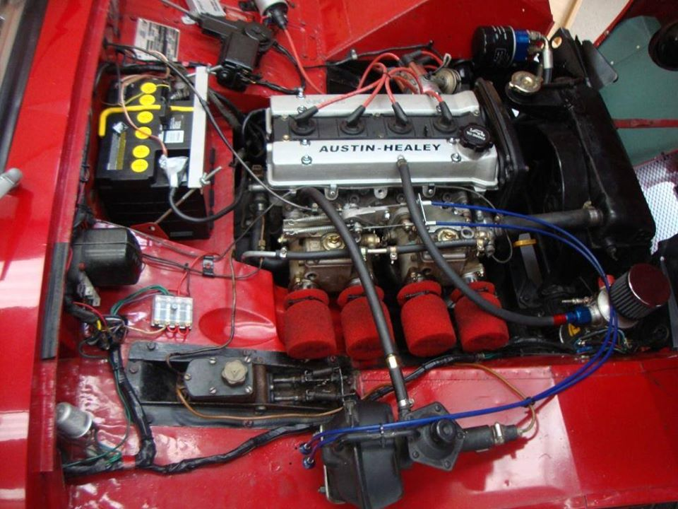 Name:  AH Sprite #38 Bugeye Sprite with Toyota Twincam Alan Horner .jpg