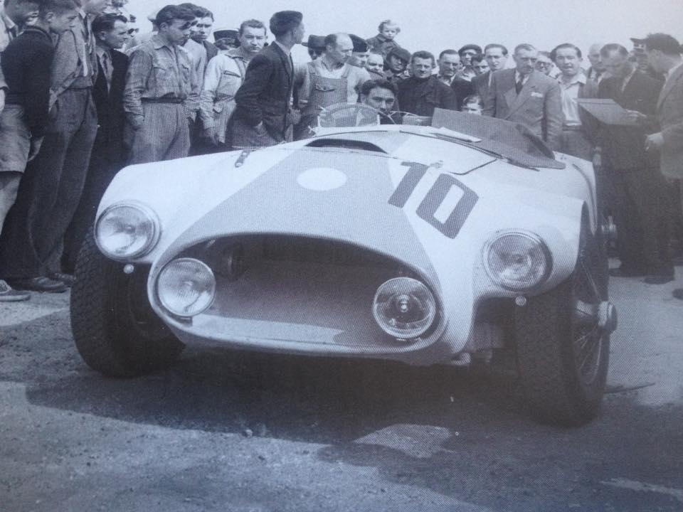 Name:  AH 100 #1954 Nash Healey race #10 1953 Le Mans race Clas Askelar archives .jpg Views: 230 Size:  71.5 KB