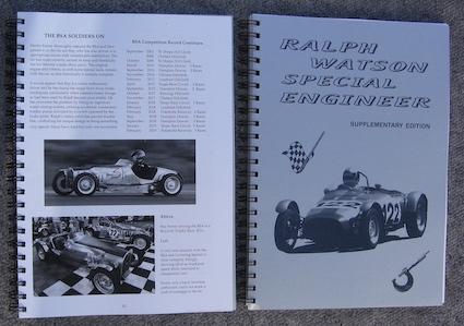 Name:  Motoring Books #190 Ralph Watson SpecialEngineer Trevor Sheffield book .jpg Views: 200 Size:  66.4 KB