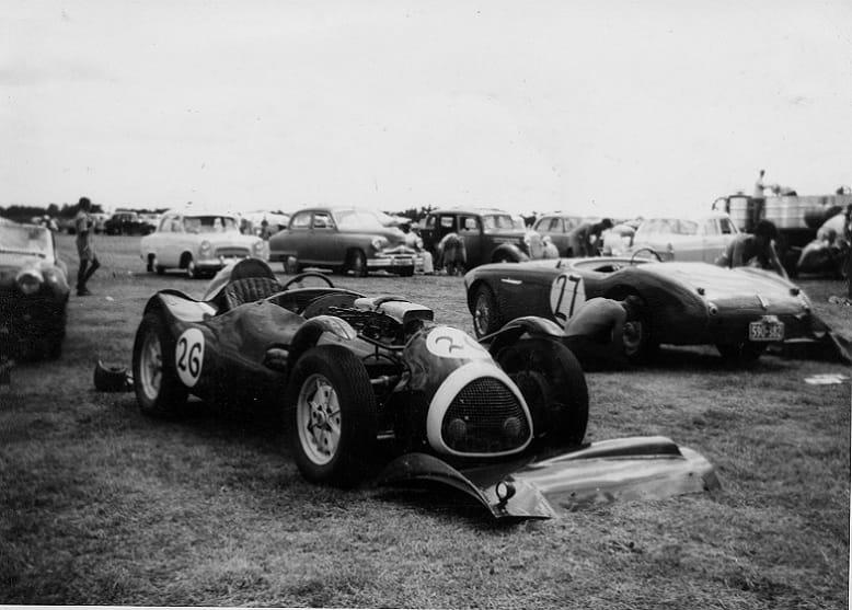 Name:  AH 100 #102 Cooper Bristol and AH Wigram 1961 Sean Taylor archives .jpg Views: 60 Size:  55.6 KB