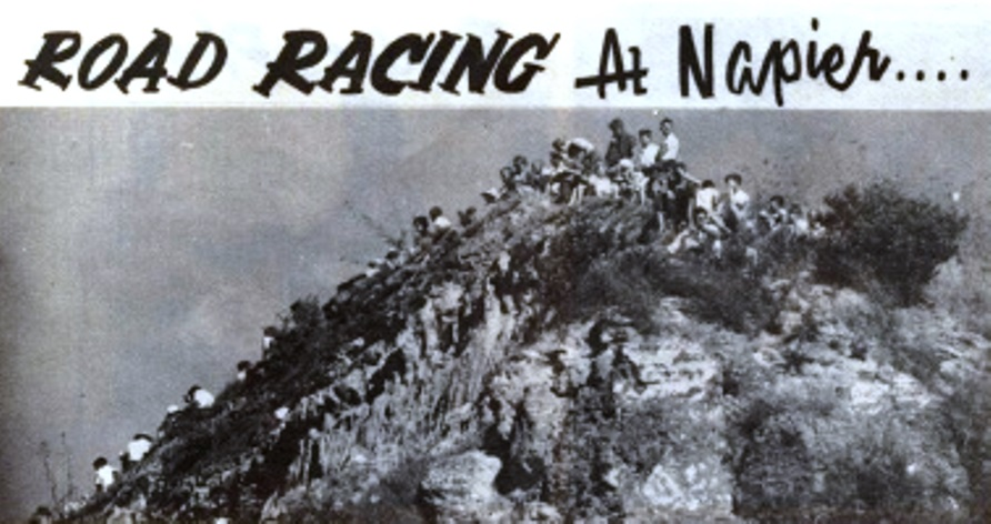 Name:  Ahuriri Races. April 1961.jpg. Spectators.jpg
