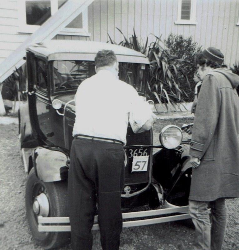 Name:  Hunua Hundred 1971 #26 Ford Model A Charlie Liddell and I CCI07102019 (765x800).jpg Views: 240 Size:  150.4 KB