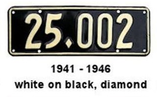 Name:  NZ Number plates #946, 1941 - 46 crop R Armstrong .jpg