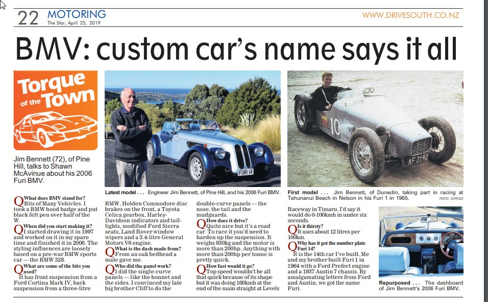 Name:  Jim Bennett Furi Cars #66 Furi 14 Newspaper article April 2019 Jim Bennett .jpg