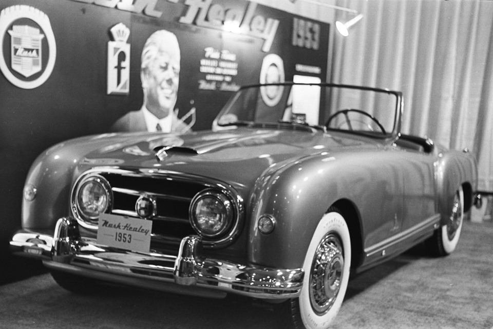 Name:  AH 100 #212 Nash Healey 1953 Motor Show K Stelk archives .jpg