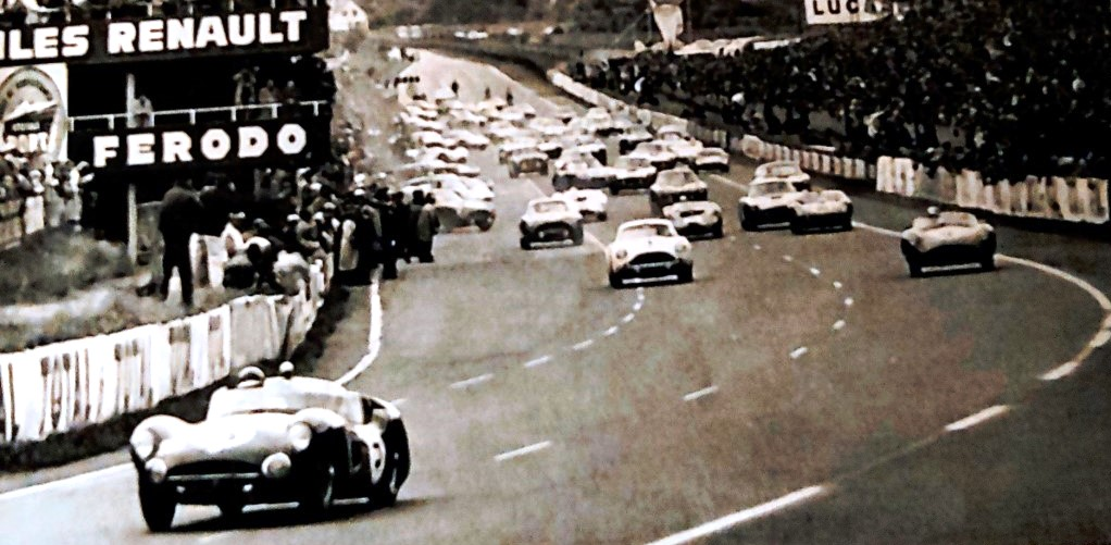 Name:  Jimmy at Le Mans. 1961.jpg